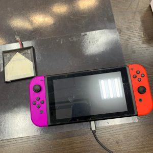 バッテリー交換をした任天堂switch
